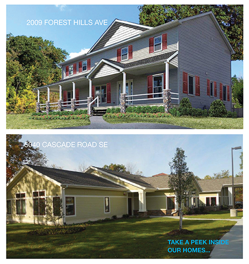 both houses homepage
